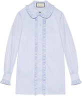 Gucci Oxford shirt - women - Cotton - 44
