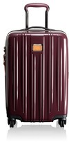 Tumi 'V3' International 4 Wheel Carry-On - Red
