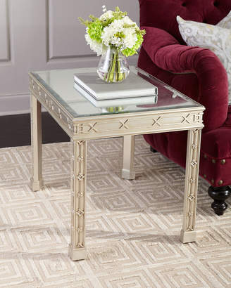 John-Richard Collection Linford Eglomise Side Table