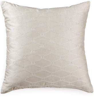"""Hotel Collection Woven Texture 20"""" Square Decorative Pillow Bedding"""