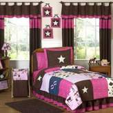 JoJo Designs Sweet Cowgirl 4-Piece Twin Comforter Set