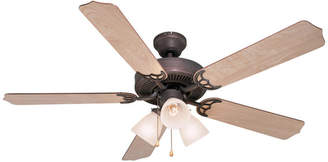 Palladium 3 Light 52 Triple Ceiling Fan, Light Maple, Cherry