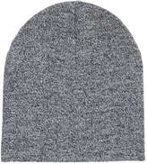 Joe Fresh Men's Marled Hat, Grey Mix (Size O/S)