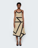 J.W.Anderson Contrast Cami Dress