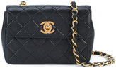 Chanel mini quilted chain crossbody bag