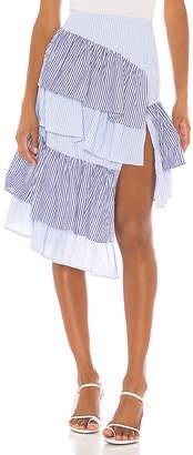 L'Academie The Francine Midi Skirt