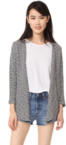 Sundry Striped Cardigan