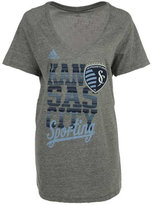 adidas Women's Sporting Kansas City Inside The Lines T-Shirt