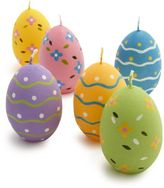 Sur La Table Easter Egg Candles, Set of 6