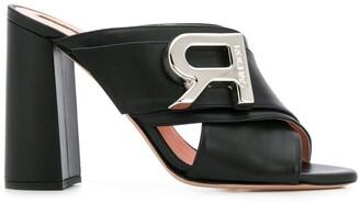 Rochas Slip-On Mules