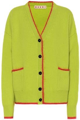 Marni Wool and mohair cardigan