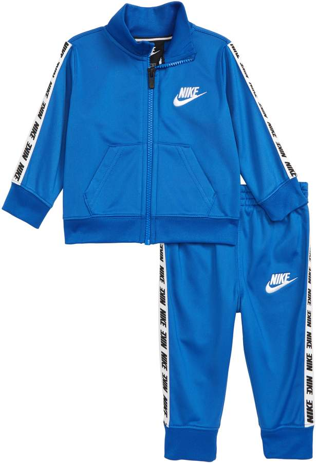 Nike Block Taping Track Jacket & Track Pants Set