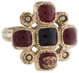 Chanel Gripoix Cocktail Ring