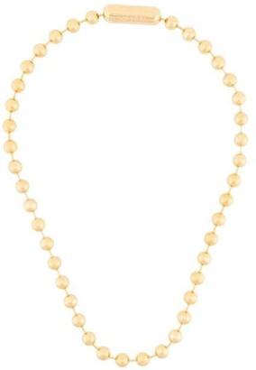 Ambush Ball Chain Short Necklace L Gold