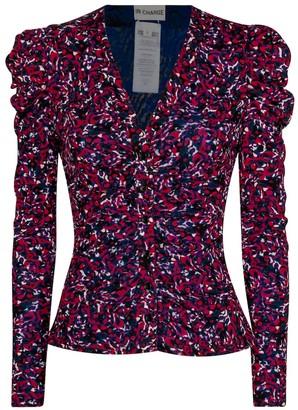 Diane von Furstenberg Gladys floral blouse