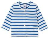 Petit Bateau Baby girls striped heavy jersey cardigan