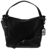 Lauren Ralph Lauren Womens Grafton Felicity Leather Convertible Hobo Handbag
