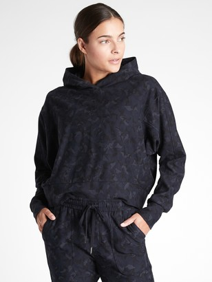 Athleta Farallon Printed Sweatshirt