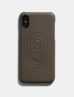 Coach Iphone X/Xs Case With Patch
