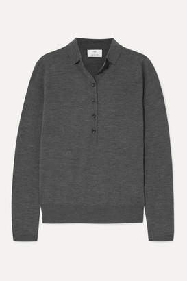 Allude Wool Sweater - Gray