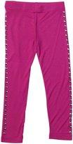Design History Nailhead Leggings (Toddler/Kid)-Raving Pink-2T