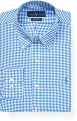 Ralph Lauren Custom Fit Gingham Dobby Shirt