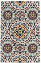 Leon Hand-tufted de Suzani Ivory Rug (9' x 12')