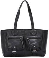 Ann Creek Women's Beatty Leather Satchel Bag