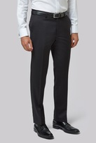 Moss Bros Tailored Fit Black Pants
