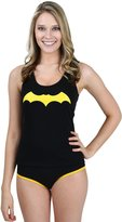 Batman Underoos Womens Juniors Batgirl Tank Underwear Set