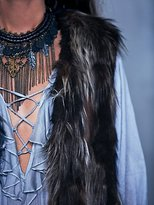 Free People Swagger Fur Vest
