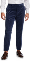Ralph Lauren Purple Label Men's Corduroy Straight-Leg Pants