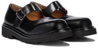 Marni Leather Mary Jane ballet flats