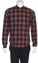 Marc by Marc Jacobs Plaid Woven Shirt