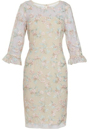Gina Bacconi Armina Embroidered Dress
