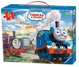 Thomas & Friends at The Airport Floor Puzzle in a Suitcase Box - 24 Pieces