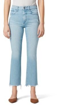 Joe's Jeans Callie Distressed-Hem Cropped Jeans