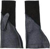 Rick Owens textured gloves