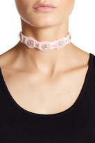 Carolee Tulle Stone Choker