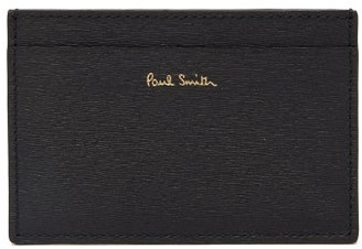Paul Smith Colour-blocked Leather Cardholder - Mens - Multi