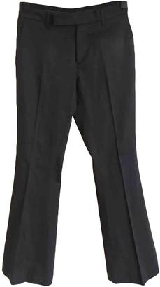Barbara Bui Black Cotton Trousers for Women