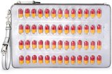 Moschino pill blister pack clutch