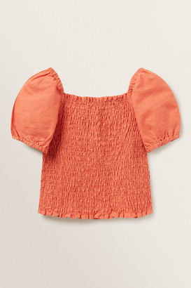 Seed Heritage Shirred Bodice Top