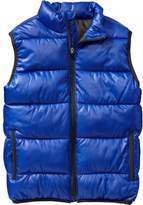 Old Navy Boys Quilted Frost Free Vests