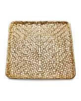 Michael Aram Square Palm Plate