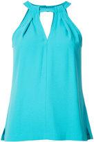 Trina Turk halter blouse - women - Polyester - L