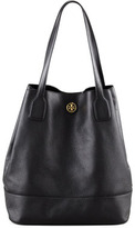 Tory Burch Michelle Leather Tote Bag, Black