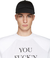 Vetements Black Logo Tour Cap
