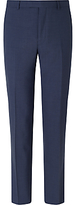 Daniel Hechter Textured Marl Tailored Fit Suit Trousers, Blue