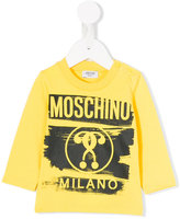 Moschino Kids question mark logo top